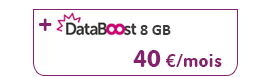 VOO VOOmobile tatoo + option DataBoost 8 GB pour 8 €